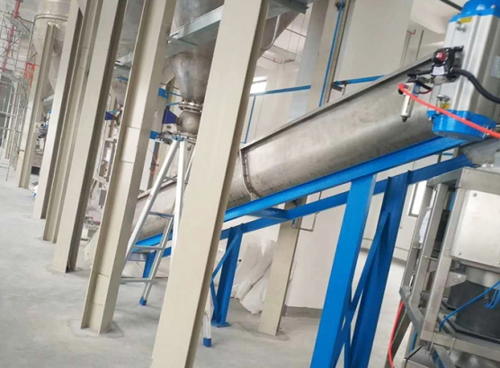 40萬噸水泥倉配套1500噸每小時不銹鋼輸送設備