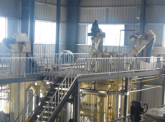 曲阜良友800噸玉米胚芽油全套生產線